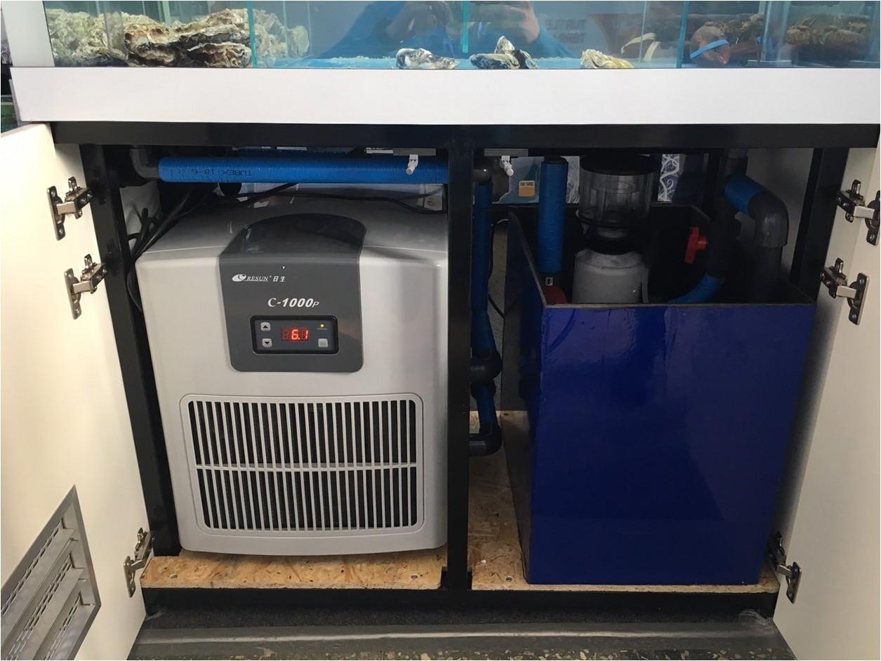 Оборудование Resun для содержания морепродуктов в аквариуме Акватика