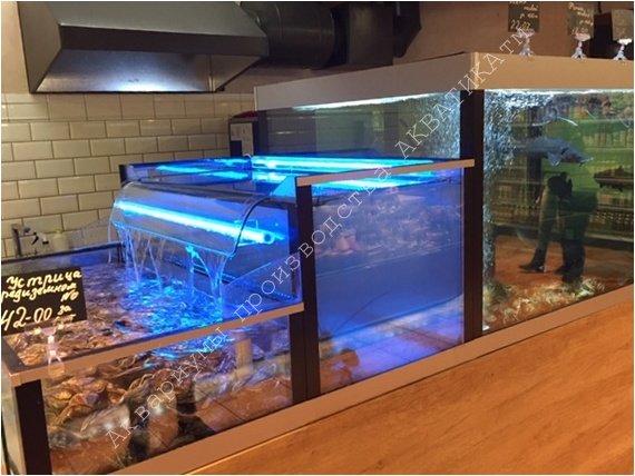 Аквариумы для продажи морепродуктов в Одессе