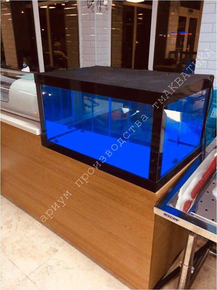 Акваріум для продажу морепродуктів. Аквариум для продажи морепродуктов
