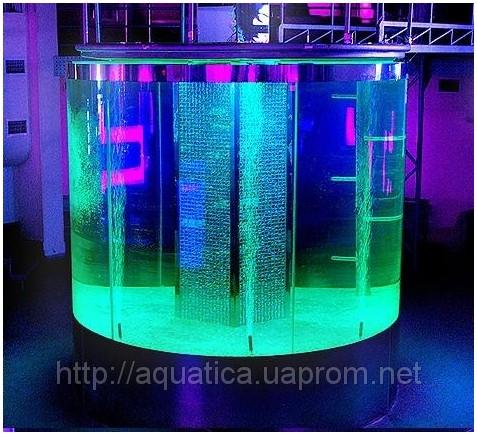 Купить аквариум в Харькове. Заказать аквариум в Харькове. Аквариум готов. Аквариум-цилиндр из гнутого триплексованного стекла. Аквариумы на заказ. Аквариумы с гнутыми стеклами. Аквариум купить. Цены на аквариумы. Изготовить аквариум