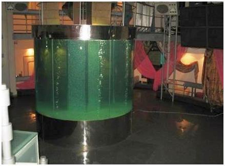 Купить аквариум в Харькове. Заказать аквариум в Харькове. Гидротехнические испытания. Аквариум-цилиндр из триплекса. Аквариумы на заказ. Аквариумы с гнутыми стеклами. Аквариум купить. Цены на аквариумы. Изготовить аквариум