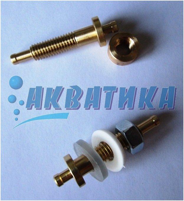 Фитинг для подключения воздушного компрессора или системы капельного долива.