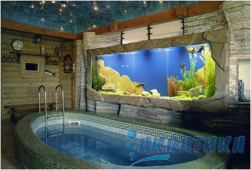 Аквариум из стекла 19мм. Изготовление аквариумов больших объемов на заказ. Аквариумы больших объемов.