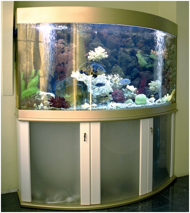 Фасады - крашеный полированный МДФ. Аквариумная подставка из ДСП. Аквариумная тумба из ДСП. Подставка для аквариума из ДСП. Тумба для аквариума из ДСП. Изготовление подставки для аквариума из ДСП. Изготовление тумбы для аквариума из ДСП. Заказать подставку для аквариума из ДСП. Заказать тумбу аквариумную из ДСП