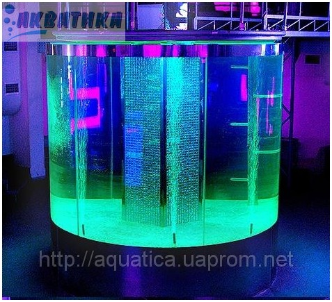 Аквариум из триплекса. Триплекс. Аквариумы из гнутого триплекса. Аквариумы из триплексованного стекла.