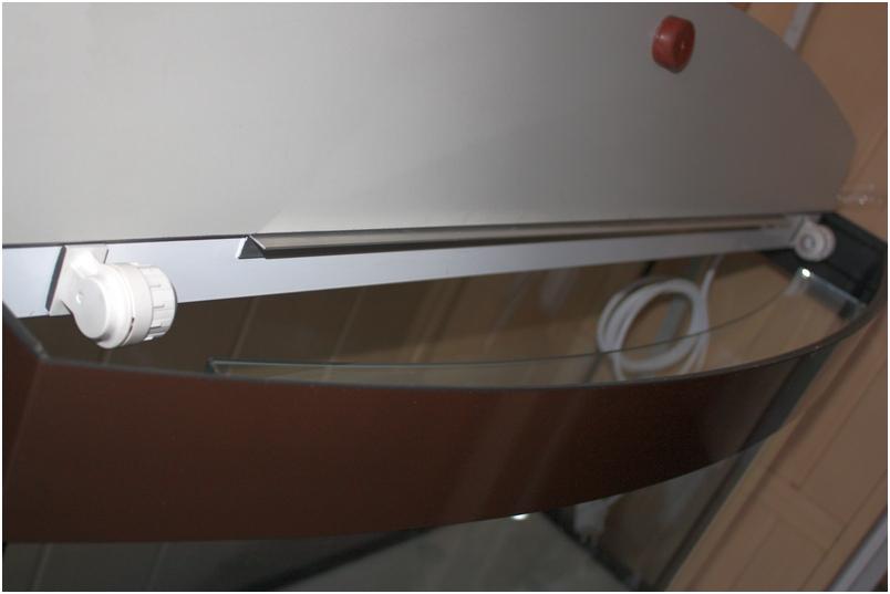 Крышка для аквариума с гнутым передним стеклом. Светильник аквариумный под лампы Т5.