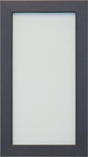 Фасад: стекло в МДФ-рамке