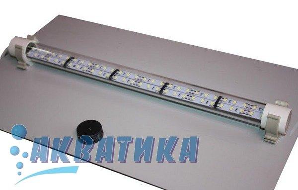 Светодиодный LED-светильник под крышку аквариума. LED-освещение. Светодиодное освещение для аквариумов.
