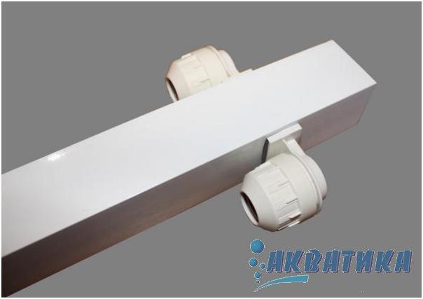 Купить аквариумный светильник для возможности установки двух ламп