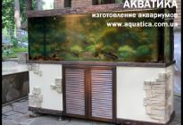 """Летом этот аквариум стоит на летней площадке ресторана """"Шервуд"""""""